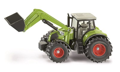 Claas Axion 850 mit Frontlader