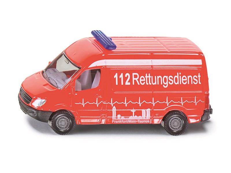 siku spielfahrzeug krankenwagen 1 87 massstab ungef hr kleintransporter mercedes siku. Black Bedroom Furniture Sets. Home Design Ideas