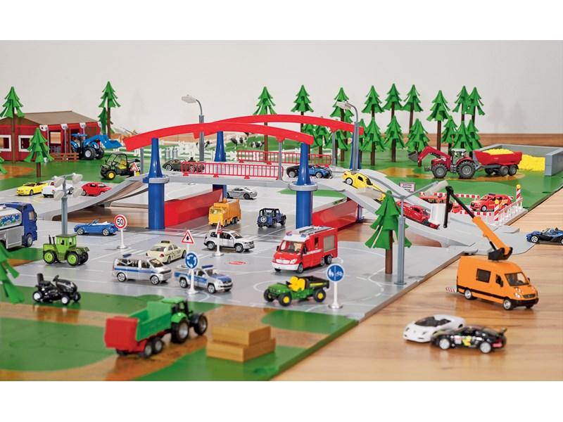 SIKU World Zugbrücke Spielzeugautos